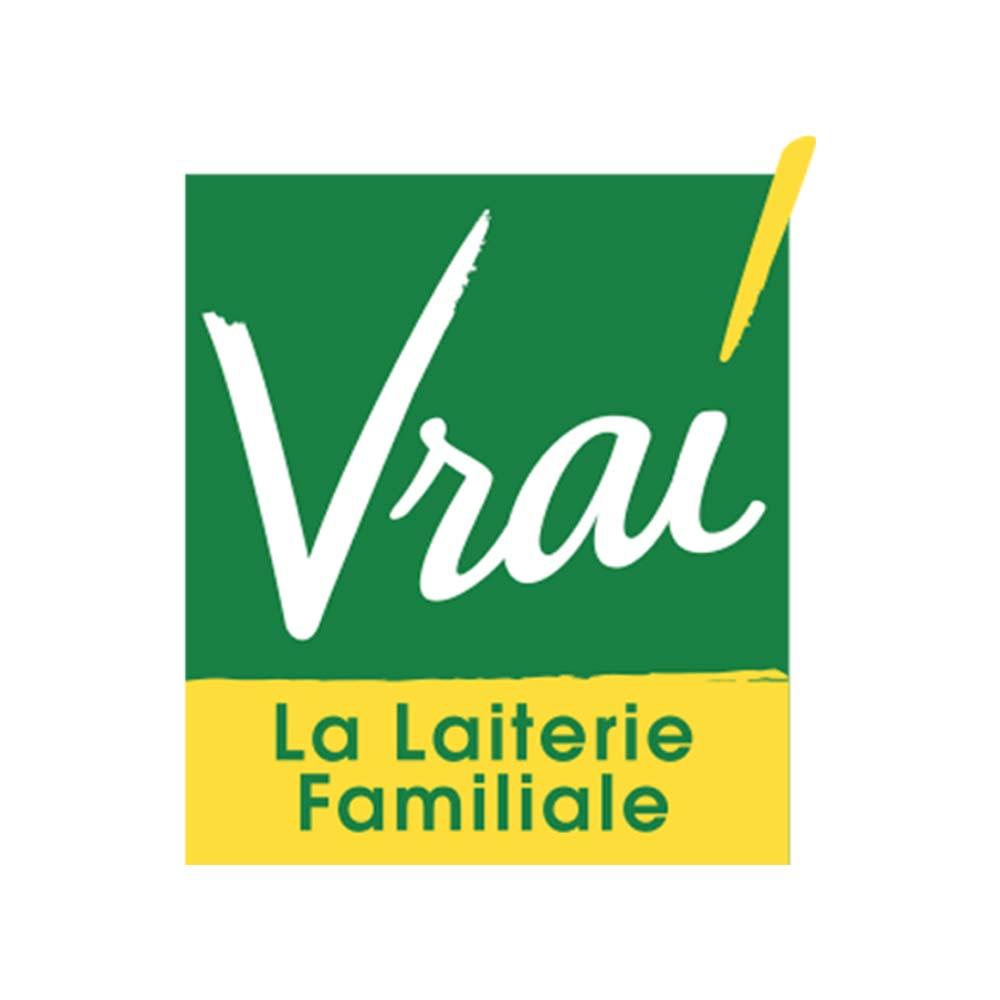 Logo de Vrai - La laiterie familiale