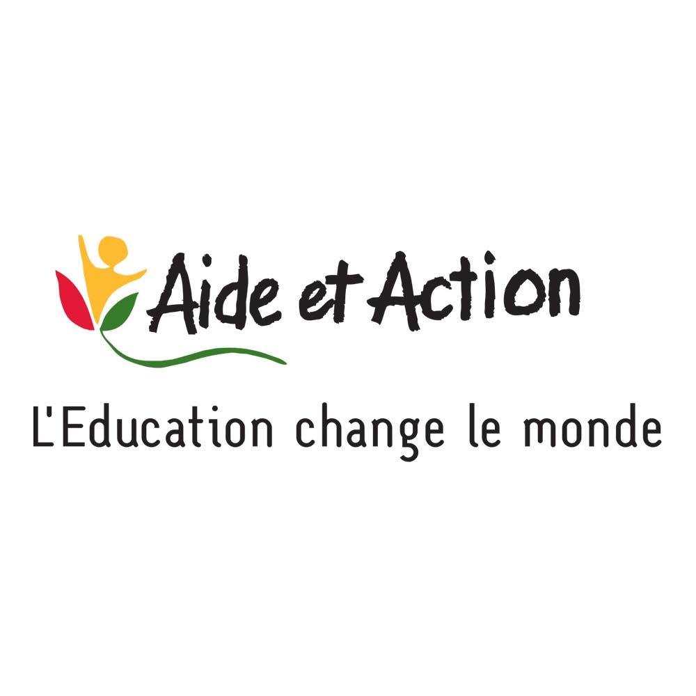 Logo de Aide et Action - L'Éducation change le monde